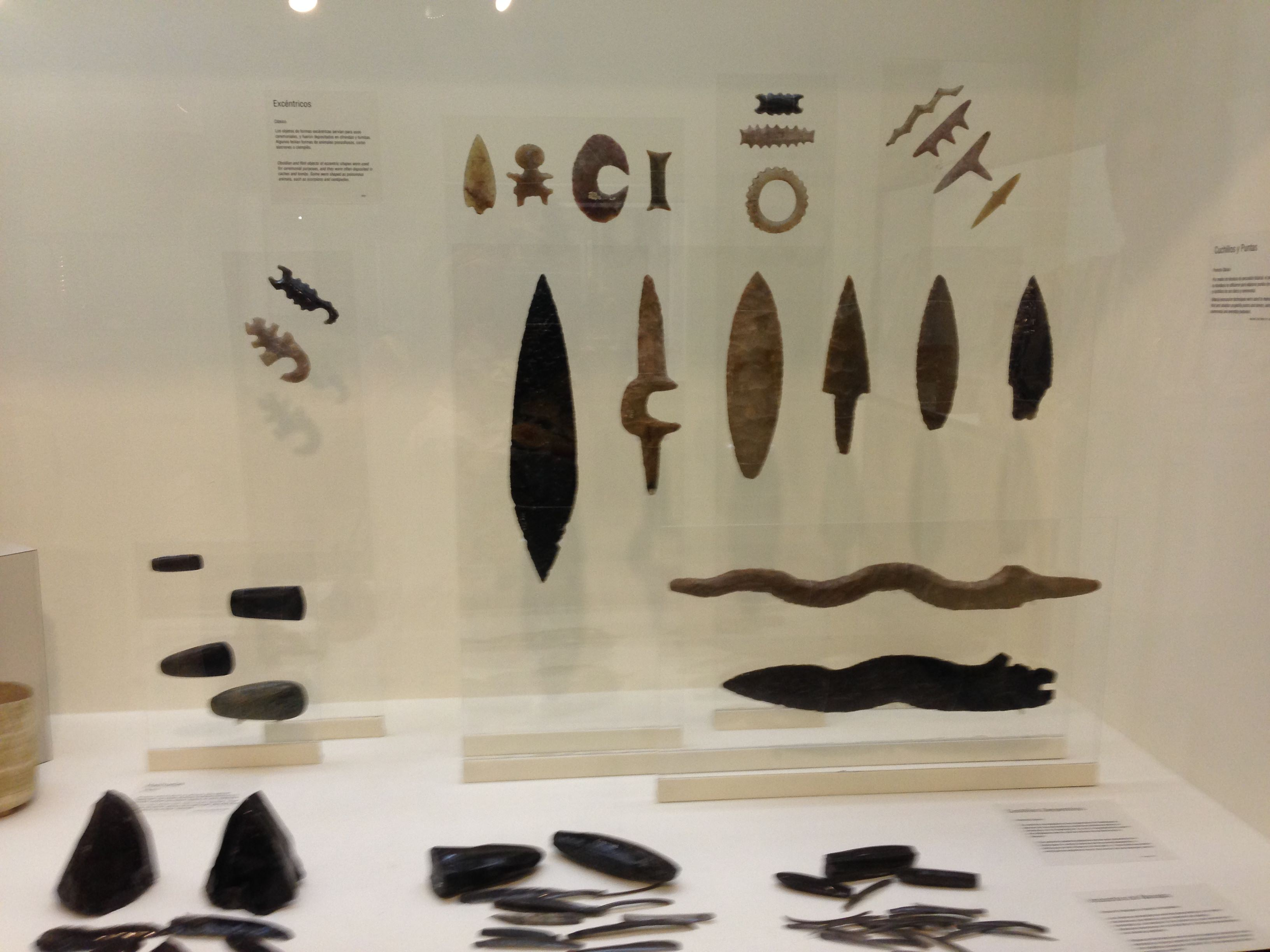 Mayan sacrifice tools