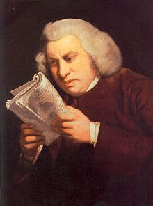 Samuel Johnson outraged