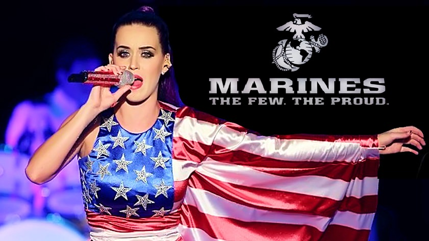 Katy Perry Marines
