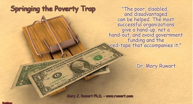 "Springing the Poverty Trap (from the ""Cliff Notes"" version of ""Healing Our World"")"