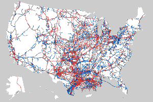 OIl pipeline map.