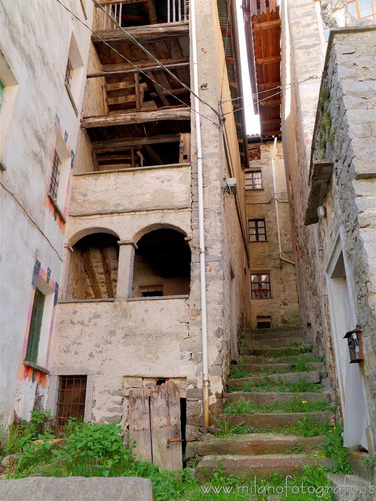 Forgnengo fraction of Campiglia Cervo (Biella, Italy)